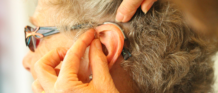 Receiver Behind the Ear Hearing Aid Fitting